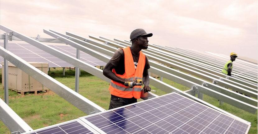 Panneaux solaires - projet Senergy 2